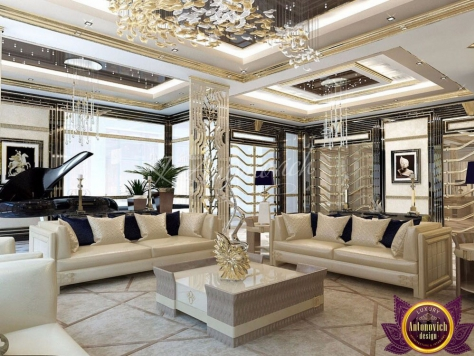 Интерьер Apartment interior Dubai of Katrina Antonovich