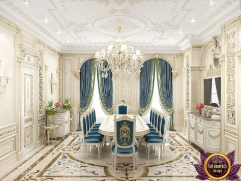 Интерьер Dining room interior design by Katrina Antonovich.