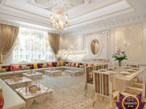Интерьер Interior design company in Dubai Luxury Antonovich Design