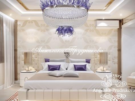 Интерьер Дизайн интерьера спальни от Анжелики Прудниковой